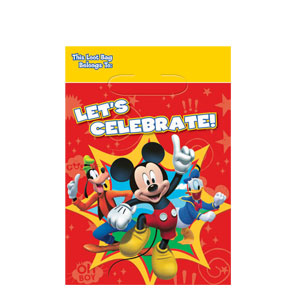Mickey Folded Loot Bags- 8ct
