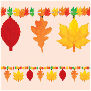 Autumn Leaves Garland- 7ft