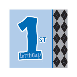 Little Rebel Luncheon Napkins - 16ct