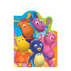 Backyardigans Thank You Cards- 8ct