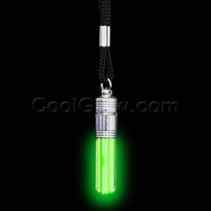 LED Pendant Necklace - Green