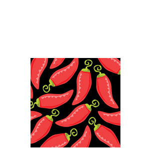Caliente Beverage Napkins- 16ct