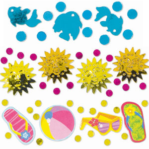 Fun in the Sun Value Triple Pack Confetti