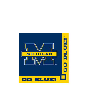 Michigan Beverage Napkins