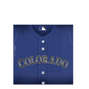 Colorado Rockies Luncheon Napkins- 36ct
