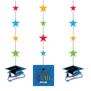 Star Grad Hanging Cutouts
