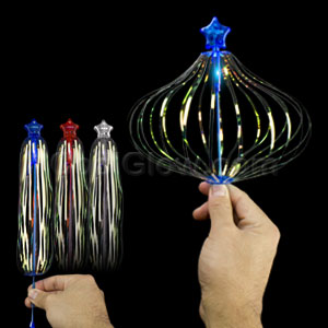 LED Sparkling Spindle Wand