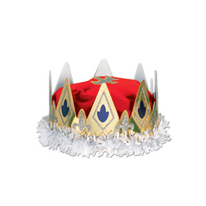 Royal Queen Crown - Red