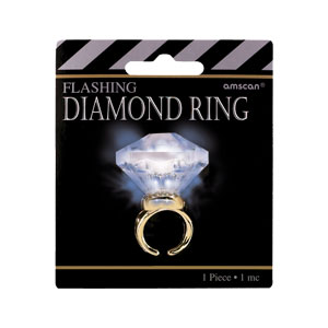 Light-Up Carat Diamond Ring