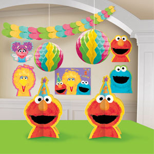 Sesame Street 1st Birthday Decorating Kit