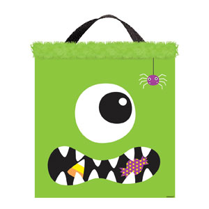 Monster Fabric Treat Bag- 14in