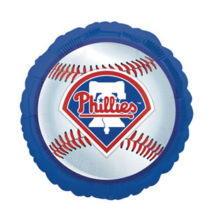 Philadelphia Phillies Balloon- 18in