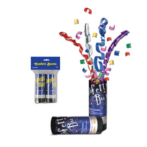 Packaged Confetti Bursts - 2ct