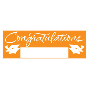 Grad Fill In Banner - Orange