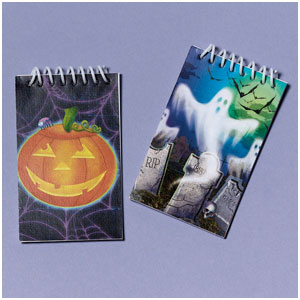 Halloween Fun Note Pads- 12ct