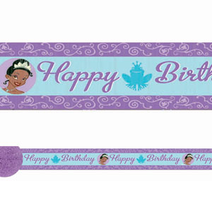 Disney Princess and The Frog Crepe Streamer- 30ft
