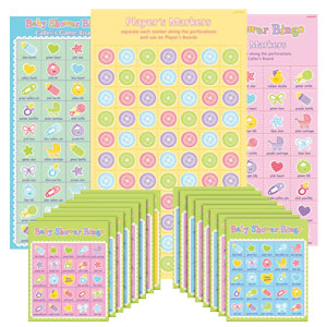 Baby Shower Bingo - 15ct