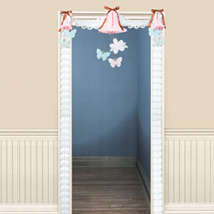 Blushing Bride Door Decorating Kit- 4ct