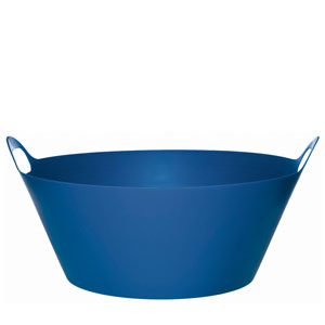 Round Blue Party Tub - 20in