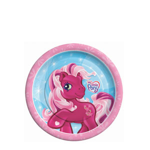 My Little Pony 7 Inch Plates- 8ct