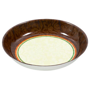 Thanksgiving Scroll Bowl- 14 Inch