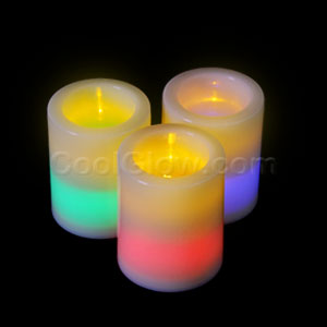 LED Flameless Votive Candle - 7 Color