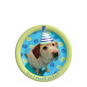 Party Pups 7 Inch Plates- 8ct