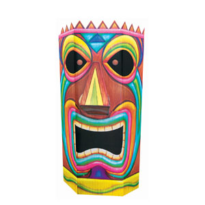 3D Giant Tiki Head- 64in
