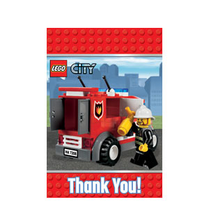 Lego Thank You Cards- 8ct