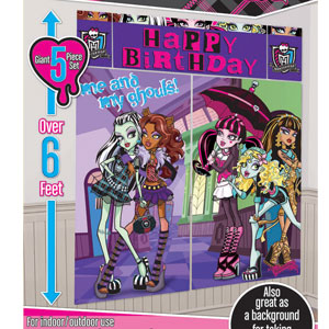 Monster High Scene Setters- 5pc