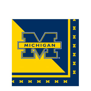 Michigan Luncheon Napkins