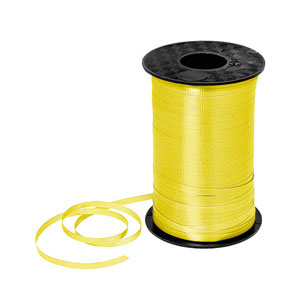 Yellow Curling Ribbon- 500yds