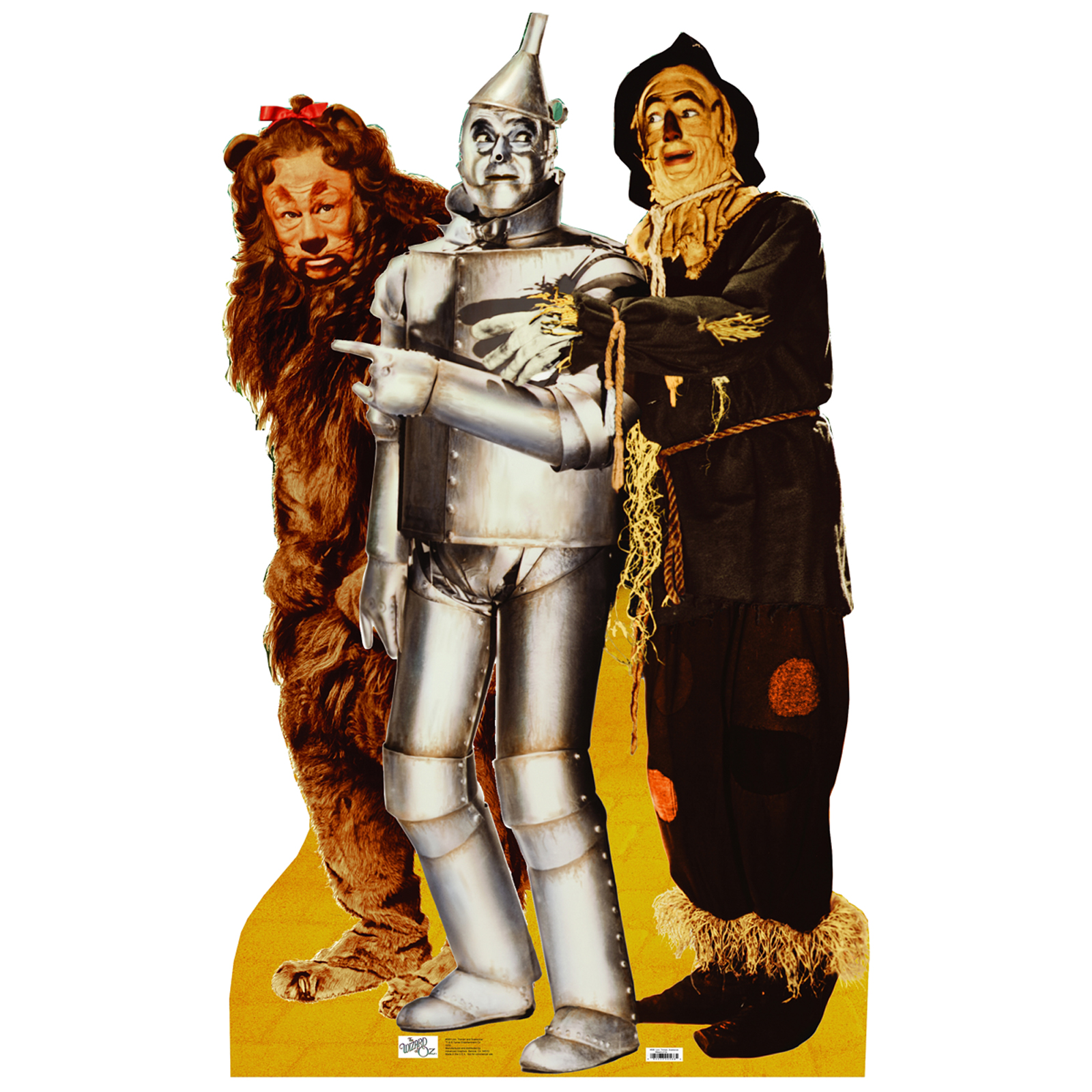 Lion Tin Man and Scarecrow Standup