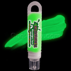 Glominex™ Blacklight UV Reactive Paint 1 oz Tube - Green