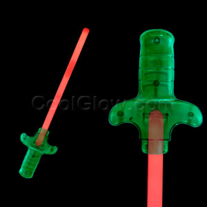Fun Central O001 Glow in the Dark Premium Sword - Red