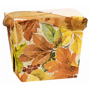 Elegant Leaves Pail