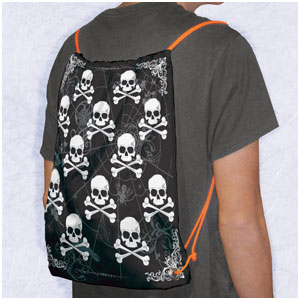 Halloween Backpack- 17in