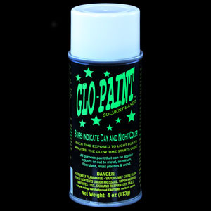 Glow Paint Aerosol Spray Can - Green