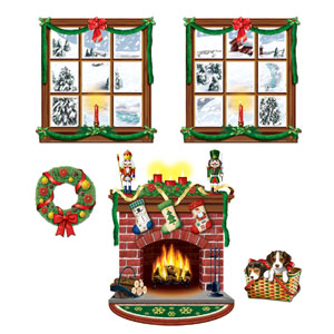 Indoor Christmas Decor Props - 5ct