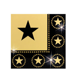 Star Attraction Luncheon Napkins- 16ct