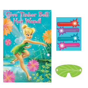 Disney Tinkerbell Party Game- 4pc