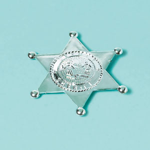 Sheriff's Badge- 3in