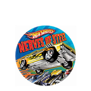 Hot Wheels 7 Inch Plates- 8ct