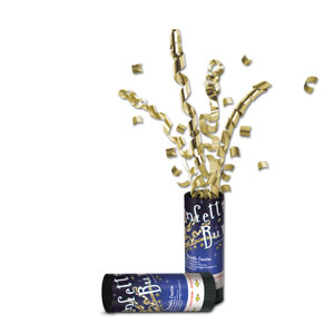 Gold Confetti Bursts - 24ct
