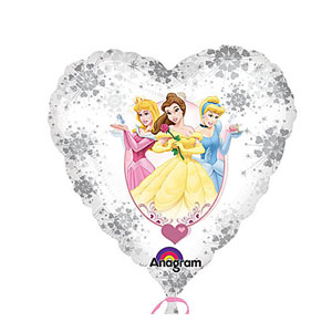 Princess Love Balloon- 18 Inch