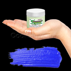 Glominex Glow Paint 2 oz Jar - Invisible Day Blue