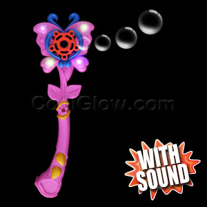 LED Bubble Wand - Butterfly