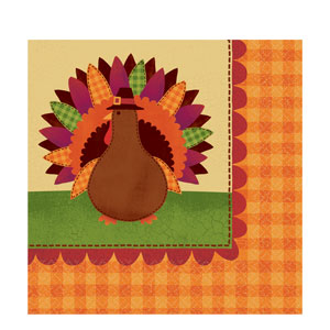 Give Thanks Dinner Napkins- 16ct