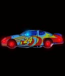 Flashing Race Car Blinky