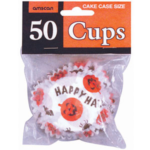 Happy Halloween Cupcake Holders- 50ct